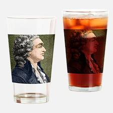 Marquis de Condorcet, French politi Drinking Glass