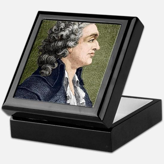 Marquis de Condorcet, French politici Keepsake Box