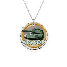 ARMOR Necklace Circle Charm