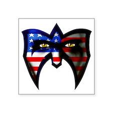 """Warrior America Square Sticker 3"""" x 3"""""""