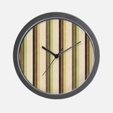 Natures Stripes Wall Clock