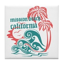 Wavefront Mission Beach Tile Coaster