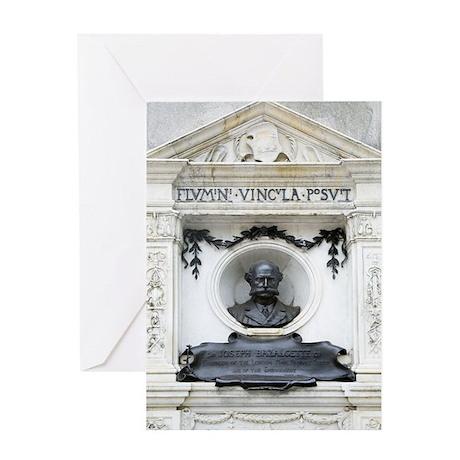 Joseph Bazalgette, British civil eng Greeting Card