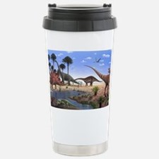 Jurassic dinosaurs Stainless Steel Travel Mug