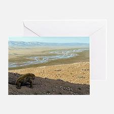 Lystrosaurus, artwork Greeting Card