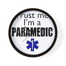 Trust me Im a paramedic Wall Clock