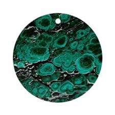 Malachite Round Ornament