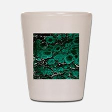 Malachite Shot Glass
