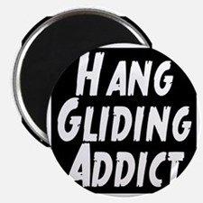 Hang Gliding Addict Magnet