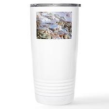 Mammoth Hot Springs mineral ter Travel Mug