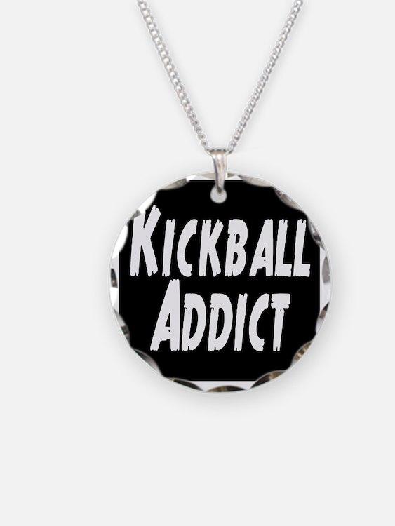 Kickball Addict Necklace