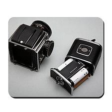 Medium format film camera Mousepad