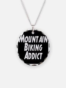 Mountain Biking Addict Necklace