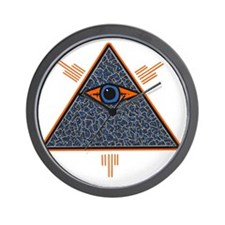 Illuminate Eye customized by Bens Focus Wall Clock