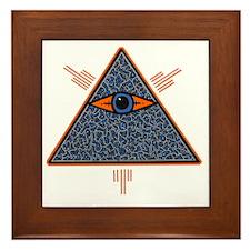 Illuminate Eye customized by Bens Focu Framed Tile
