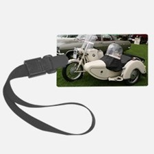 BMW Motorcycle with Sidecar Luggage Tag