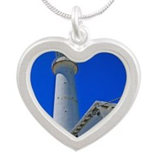 Gibbs Hill Lighthouse Silver Heart Necklace