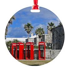 Royal Naval Phone Booths Ornament