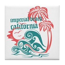 Wavefront Imperial Beach Tile Coaster