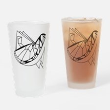 Paper Bird Drinking Glass