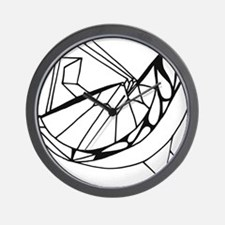 Paper Bird Wall Clock
