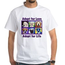 Adopt for Love, Adopt for Life Shirt