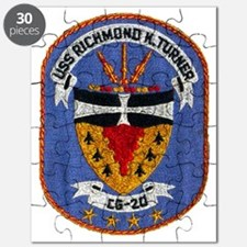 uss richmond k. turner cg patch transparent Puzzle