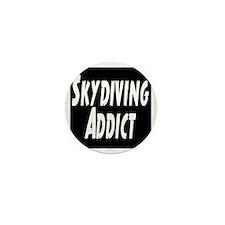 Skydiving Addict Mini Button