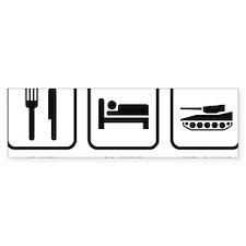 EatSleepFrank1A Bumper Sticker