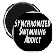 Synchronized Swimming Addict Magnet