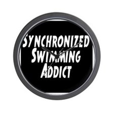 Synchronized Swimming Addict Wall Clock