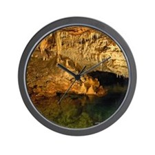 Crystal Caves Dragon Wall Clock