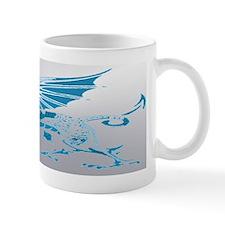 Blue  Silver Mug
