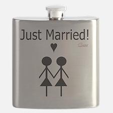Lesbian Marriage Flask