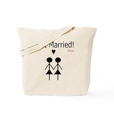Lesbian Marriage Tote Bag
