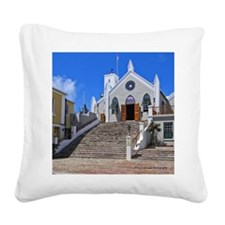 St George Cathedral Square Canvas Pillow