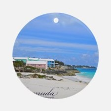 Bermuda/St Johns Beach Round Ornament