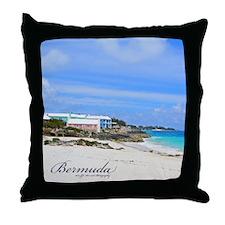 Bermuda/St Johns Beach Throw Pillow