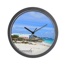 Bermuda/St Johns Beach Wall Clock
