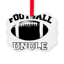 Football Uncle Ornament