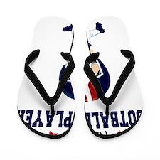 Future Football Player Flip Flops