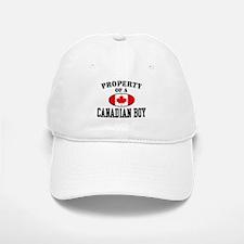 Property of a Canadian Boy Baseball Baseball Cap