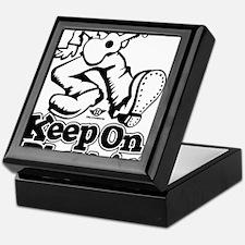 Keep On Pluckin Keepsake Box