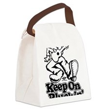 Keep On Pluckin Canvas Lunch Bag