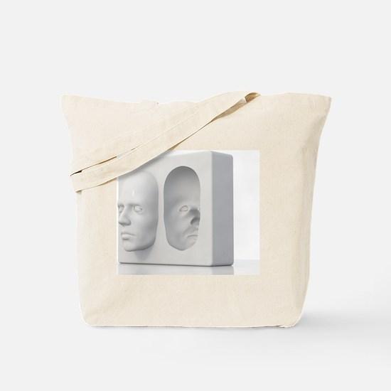 Hollow-face illusion,artwork Tote Bag