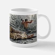 Holing at a coalface Small Small Mug