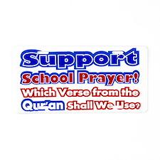 School Prayer Quran Aluminum License Plate