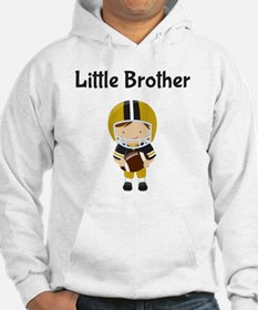 Little Brother Football Hoodie