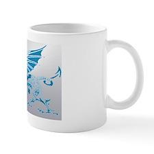 Blue  Silver Dragon Mug