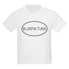 Oval Design: BLUEFIN TUNA Kids T-Shirt